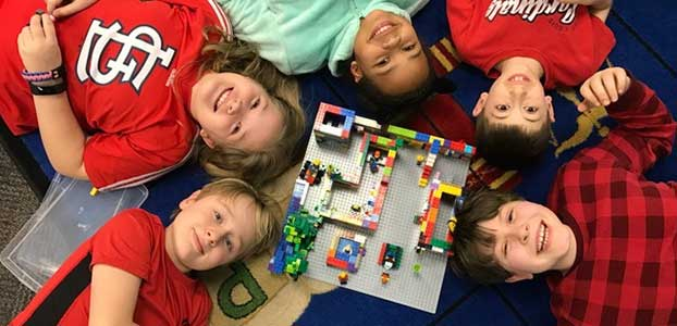 Legos Help Enhance Curriculum and Classroom Environment